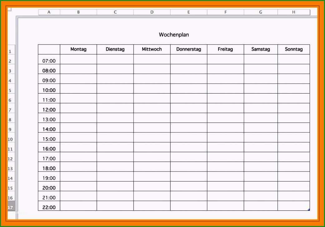 10 arbeitsplanung vorlage