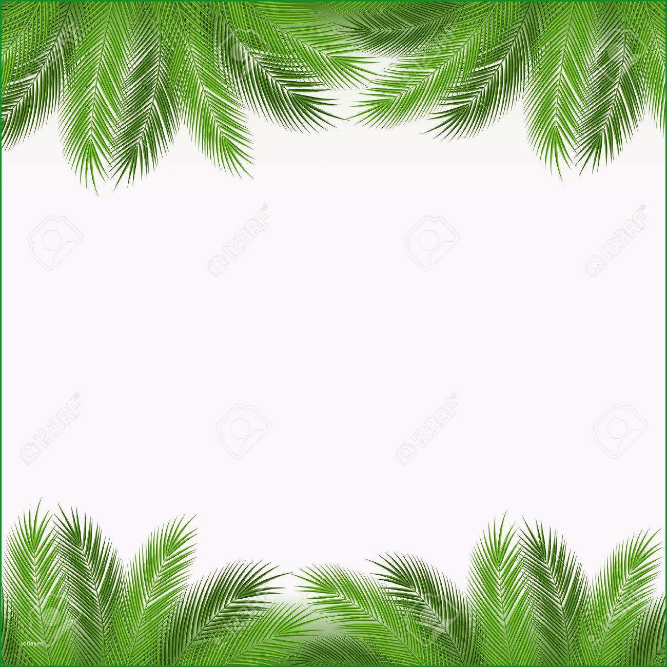 bastelvorlage palme