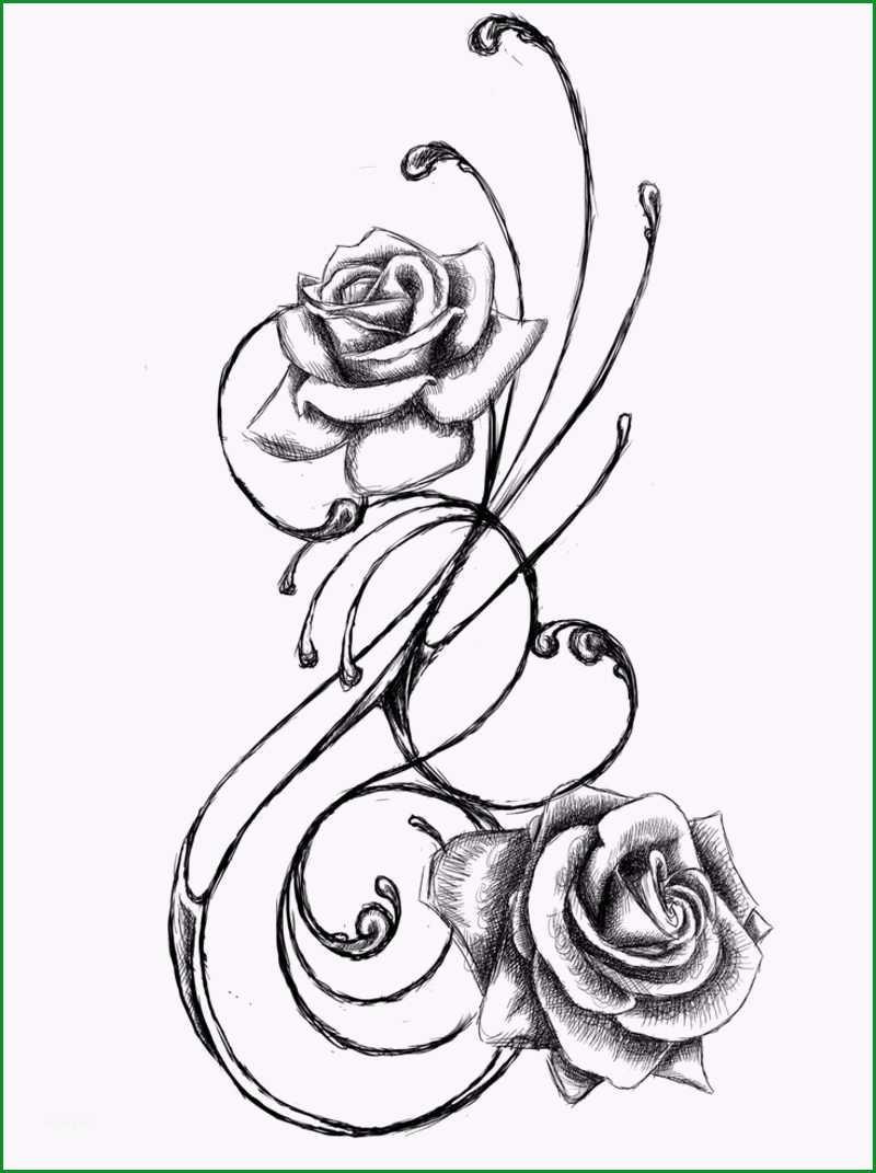blumenranken tattoo 20 vorlagen