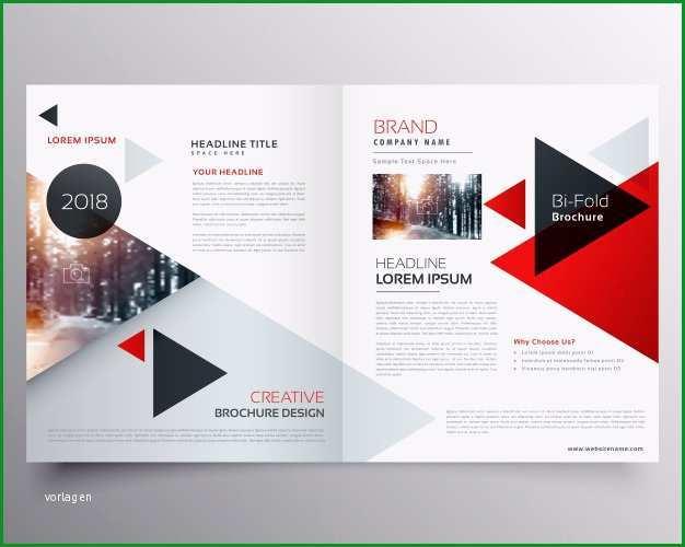 business bifold broschure oder magazin cover design vorlage mit geometrischen dreieck muster