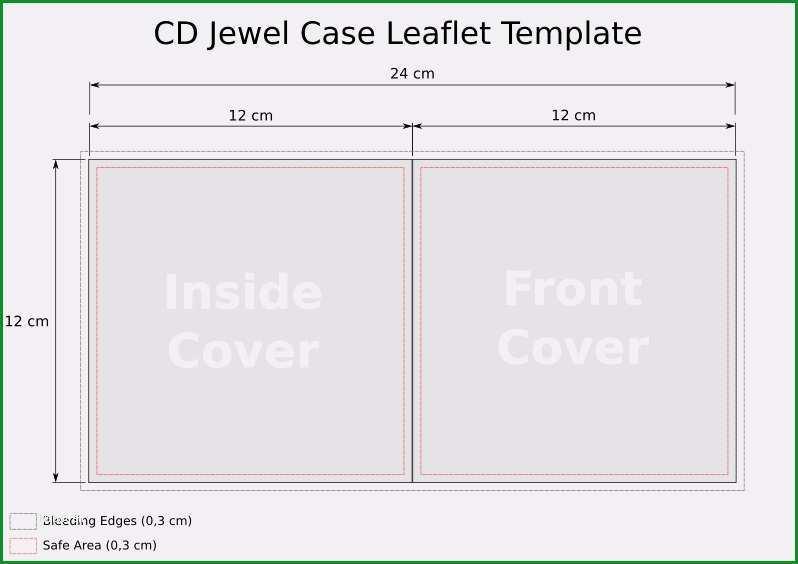 cd booklet vorlage erstaunlich cd template jewel case leaflet