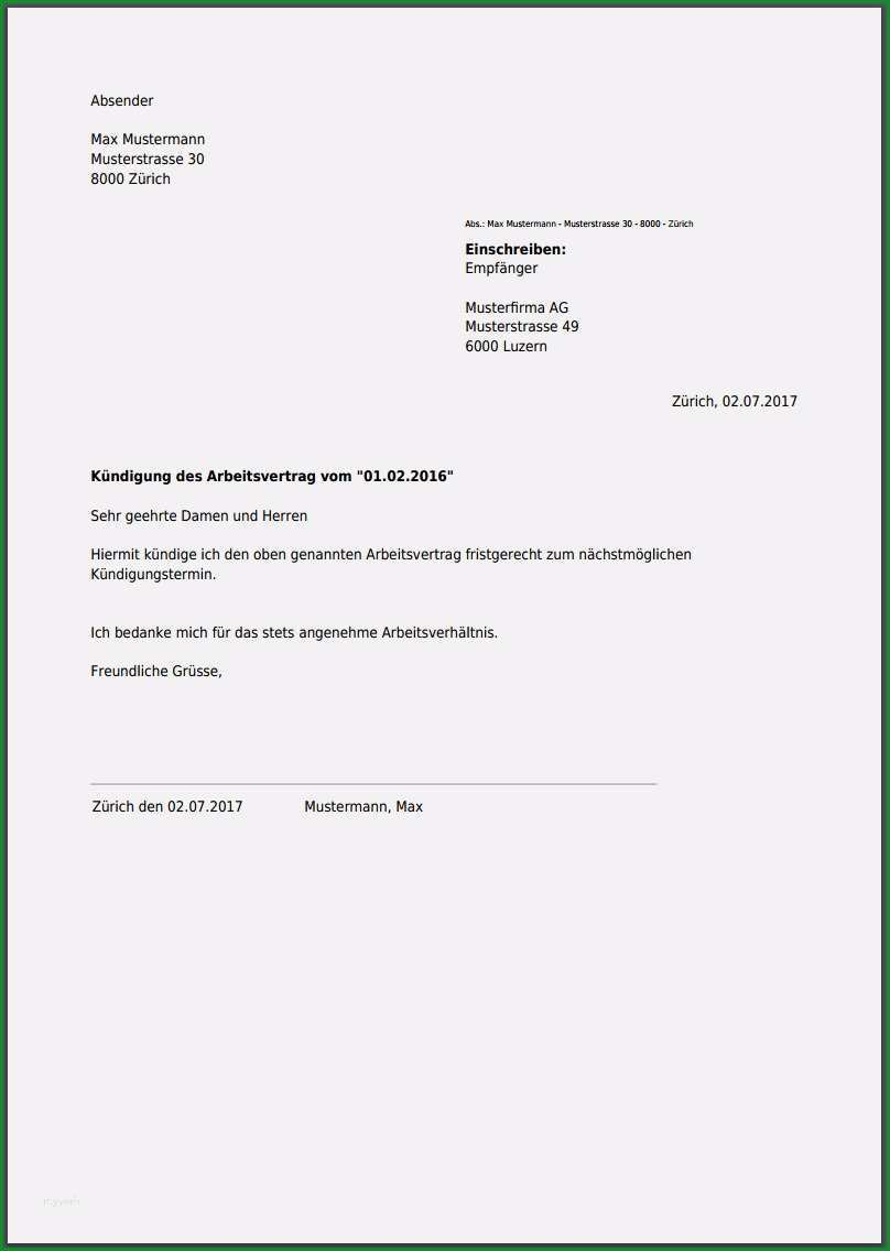 kundigung ausbildung probezeit vorlage gut kundigung fur arbeitsvertrag kostenlos online als pdf
