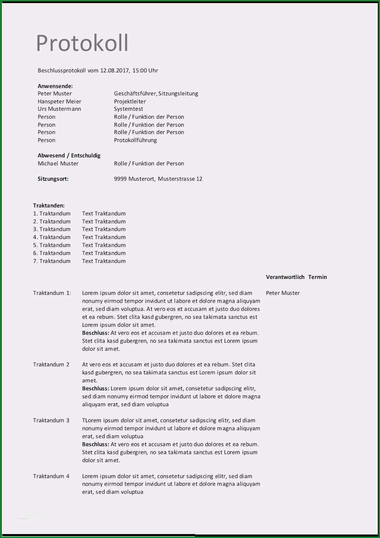 projektprotokoll vorlage einzigartig einladung gesellschafterversammlung protokoll
