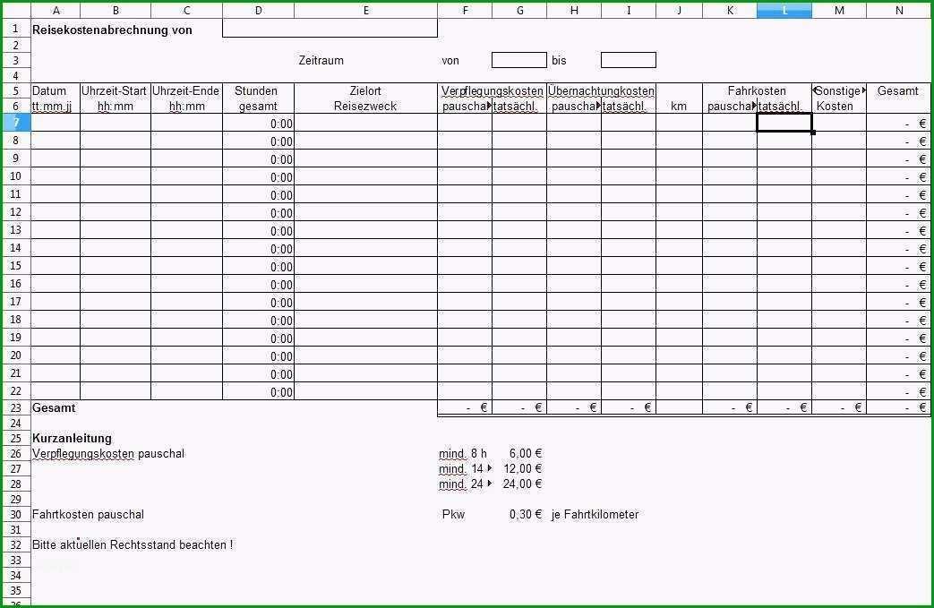 reisekostenabrechnung vorlage pdf inspirierende gallery of arbeitsnachweis muster f r elektrohandwerk