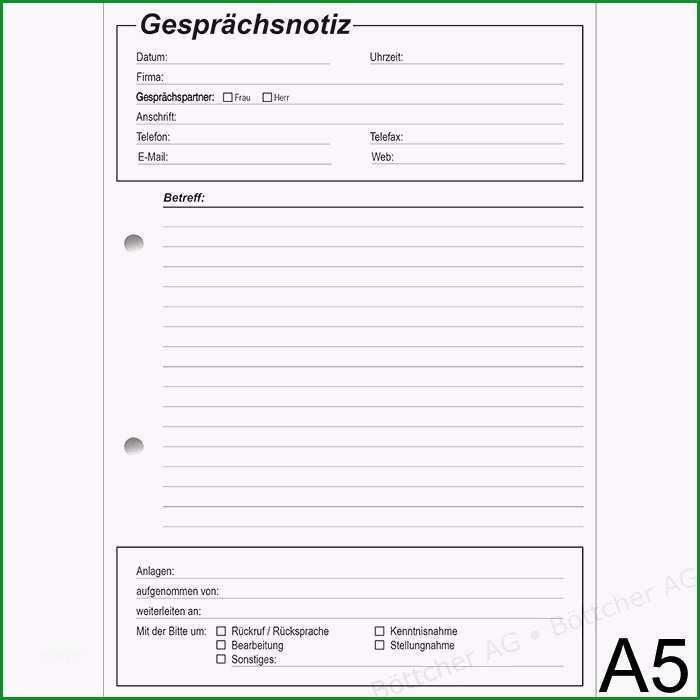 gespraechsnotizblock richter a5 p gb550 e