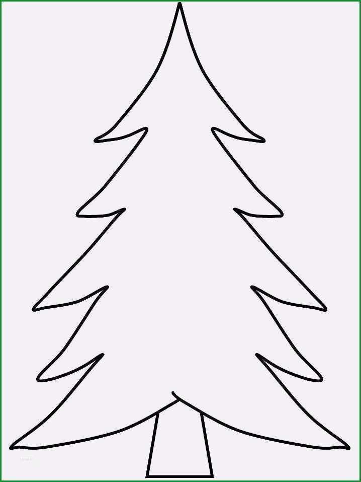Simple Vorlage Fur Weihnachtsabaum Zum Selbermachen