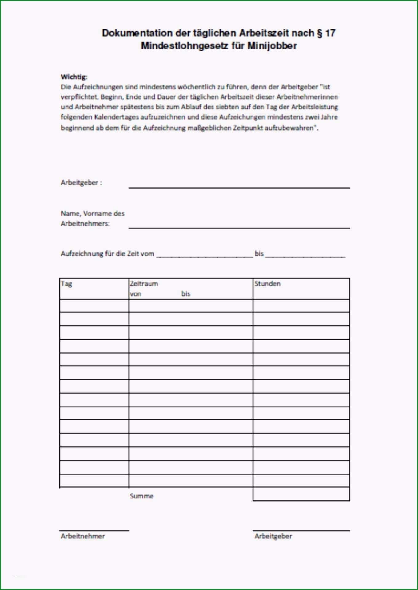 vorlage zur dokumentation der taglichen arbeitszeit kostenlos wunderbar carola schwarz betriebswirtin hwk