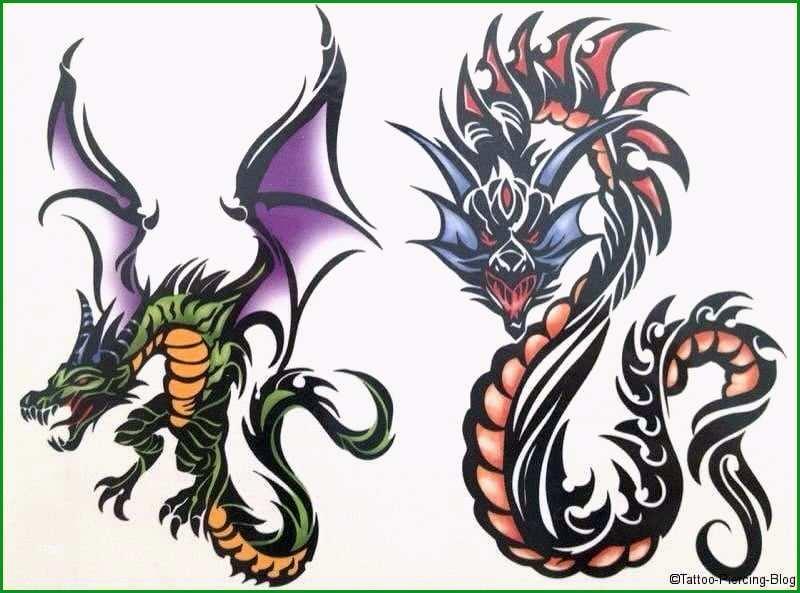 drachen tattoos vorlagen kostenlos