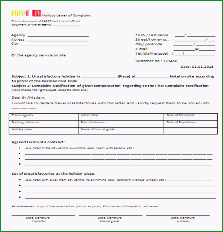 musterbriefe bzw vorlagen