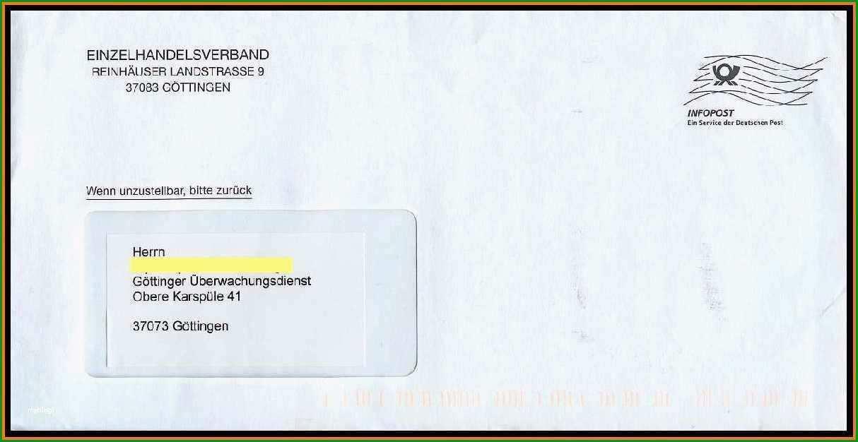 briefumschlag mit fenster beschriften vorlage neu 11 absender anschrift brief