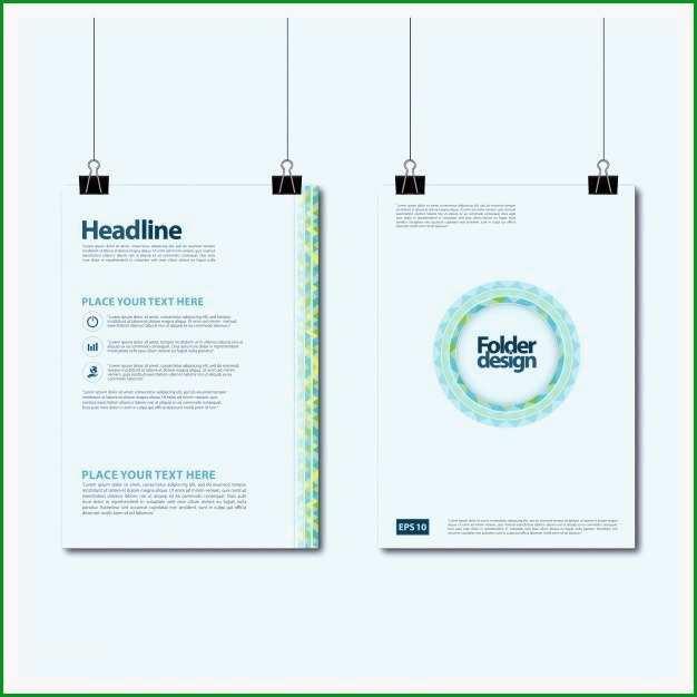 broschure vorlage einzigartige broschure vorlage design