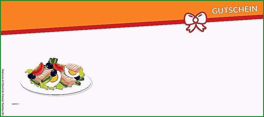 einladung zum essen gutschein