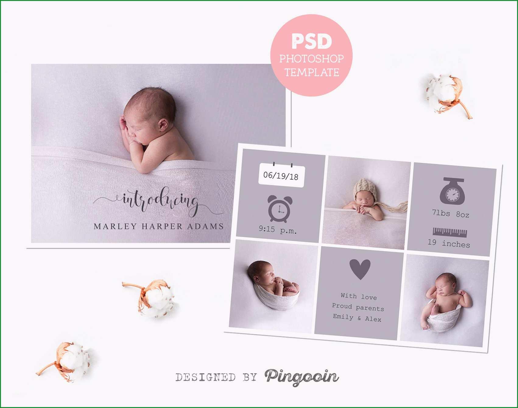 geburt ankundigung vorlage neugeborenen