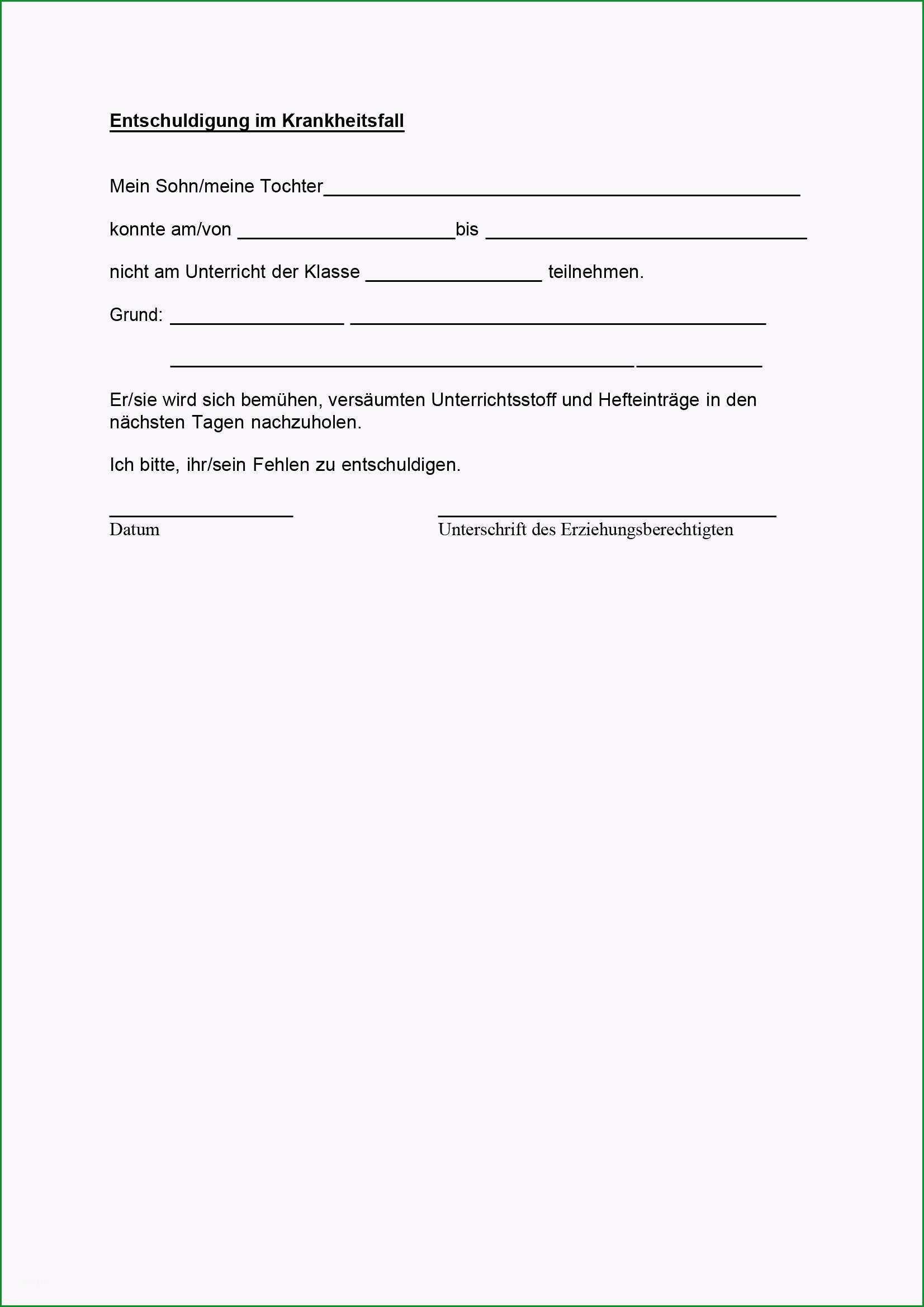 131 formularvordrucke entschuldigung und unterrichtsbefreiung
