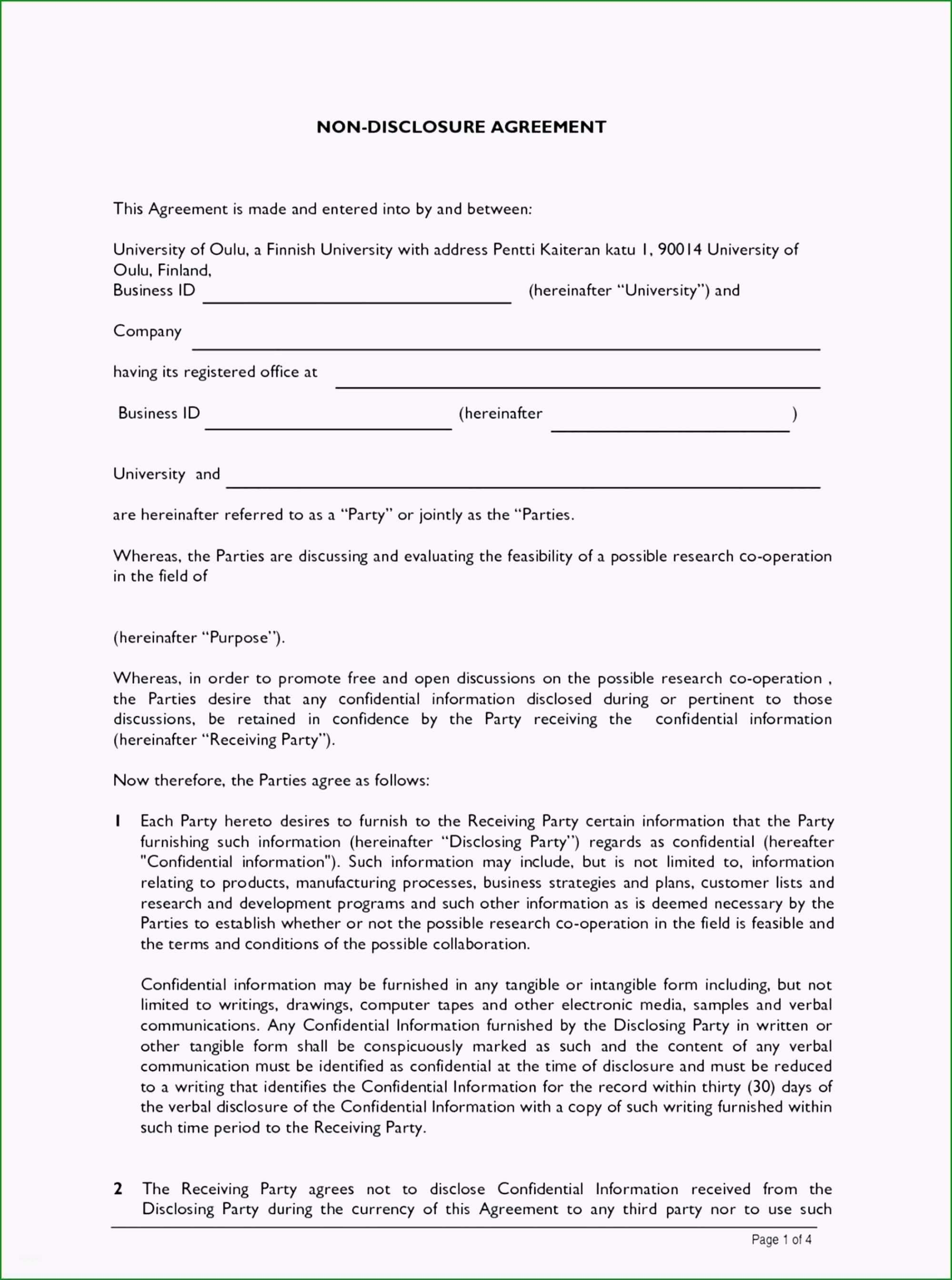 nda vorlage hubscher 93 startup nda template mutual non disclosure agreement