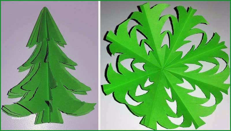 tannenbaum selber basteln aus papier