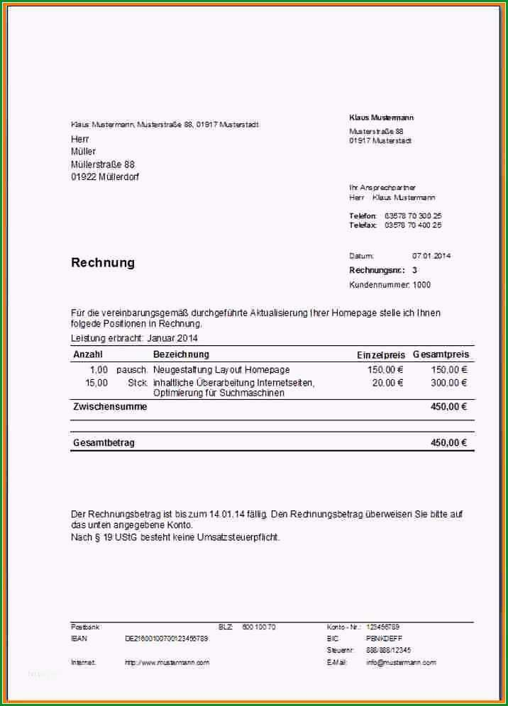vorlage rechnung fur vermittlung erstaunlich rechnungsvorlagen kostenlos rechnungsvorlage fur jeden