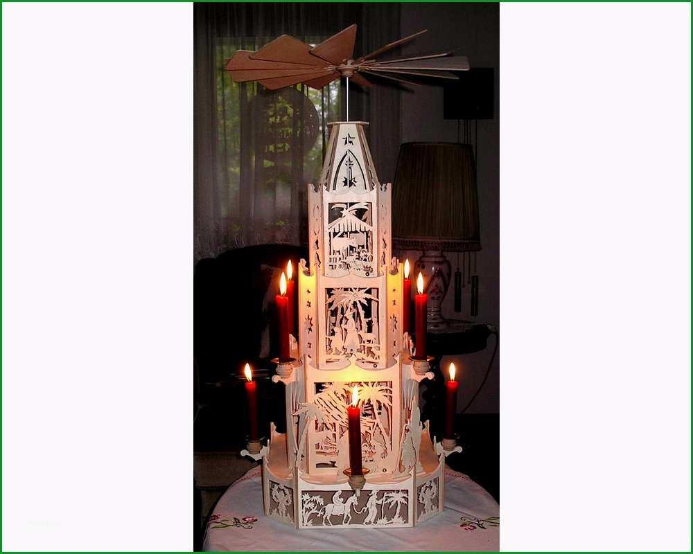 Vorlage Weihnachtspyramide grosse Krippenpyramide 80cm