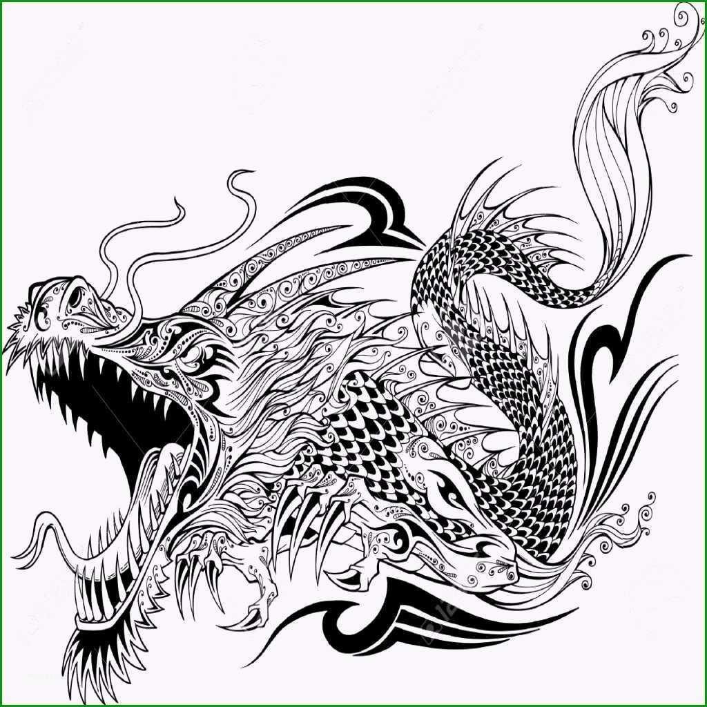 drachen tattoo vorlagen elegante luxus drachen vorlage tattoo