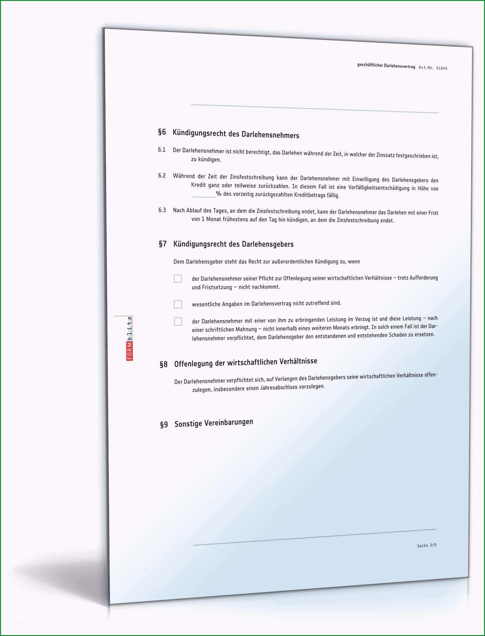 Ausgezeichnet Freund Geld Leihen Vertrag Vorlage Der Beste 12 Darlehen