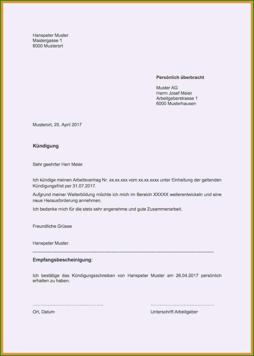 kndigung arbeitsvertrag muster arbeitgeber pdf muster und vorlage kuendigung arbeitsvertrag per email pdf