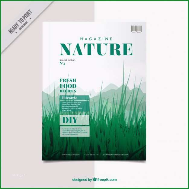 magazin cover vorlage