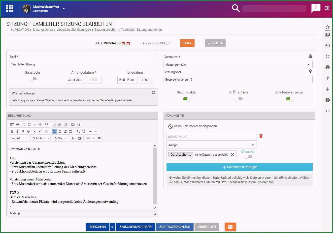 protokoll schreiben tools