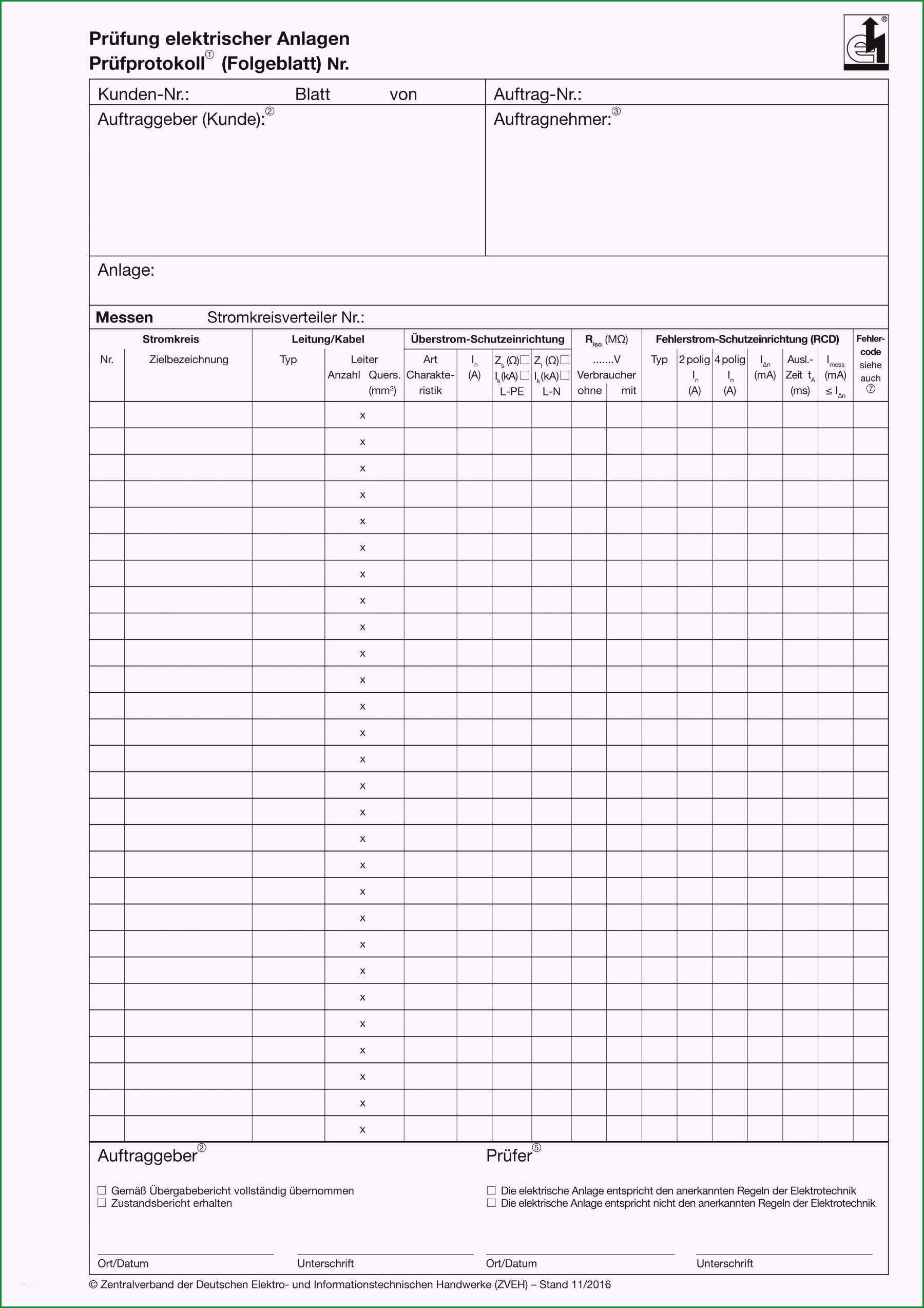 prufprotokoll elektrischer anlagen vorlage schon vorlagen 1001 page 4 kostenlose druckbare vorlagen