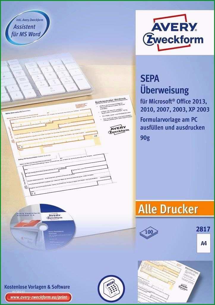 Ausgezeichnet Sepa überweisung Vorlage Word Beschriftungs software Fur