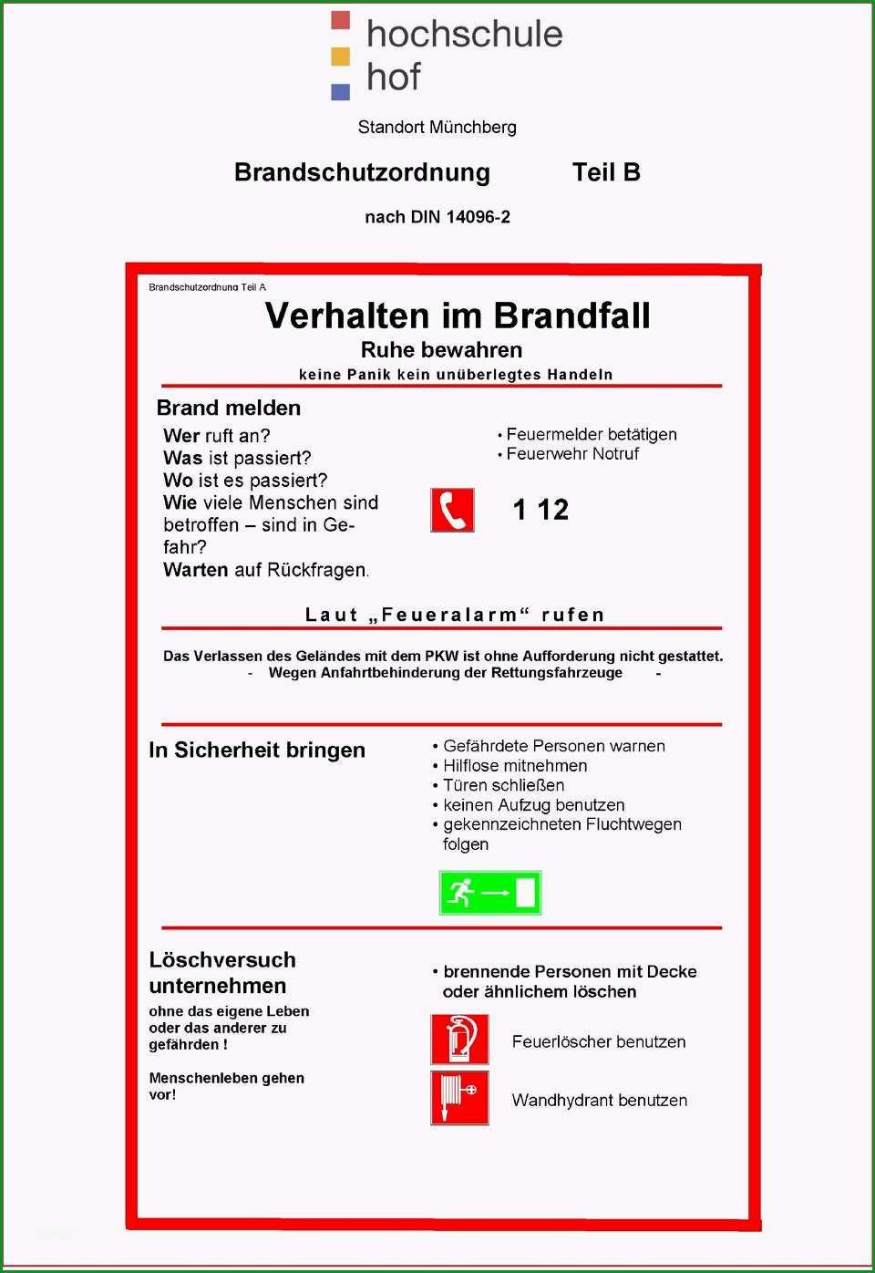 standort m nchberg brandschutzordnung nach din pdf