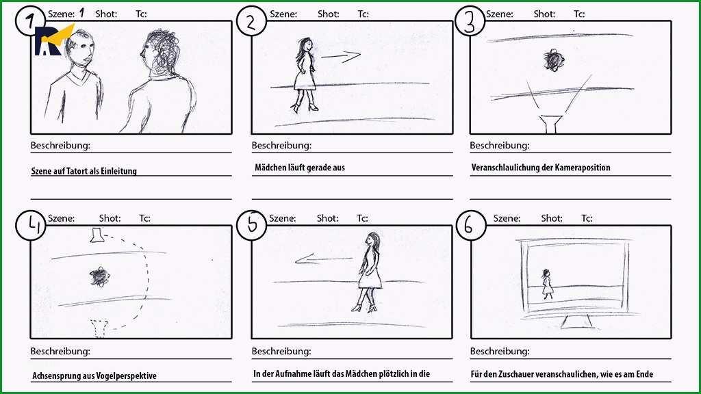 storyboard erstellen