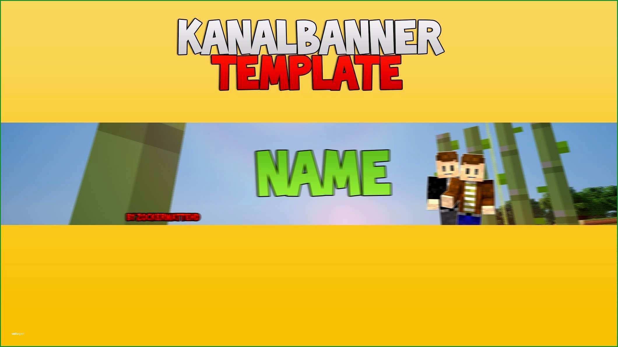 youtube kanalbanner vorlage genial kanal banner template v 1