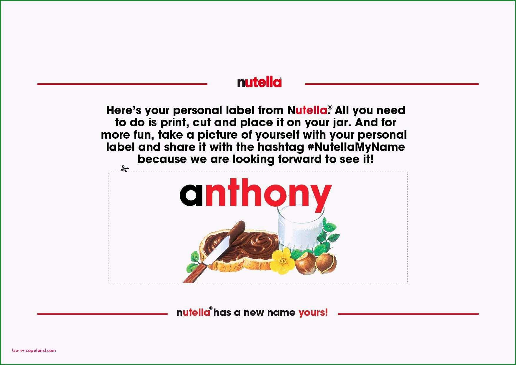 zweckform etiketten 3653 word vorlage 40 elegant nutella etikett vorlage 2