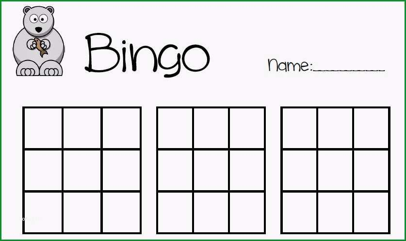 Bemerkenswert Bingo Vorlage Grundschule Dasbesteonline