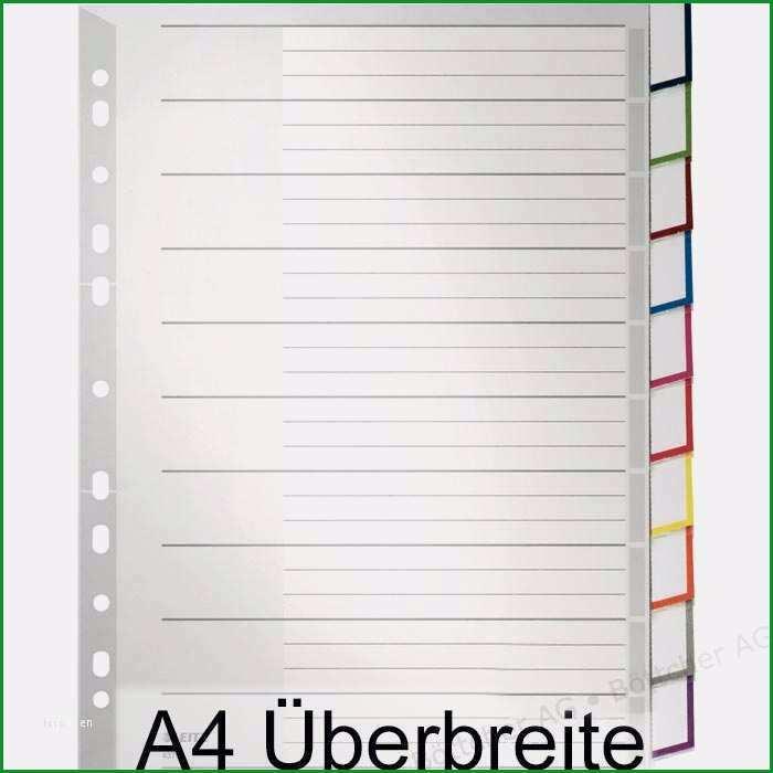 deckblatt register 1 31 vorlage best of leitz 4370 a4 uberbreite blanko pp register bottcher ag