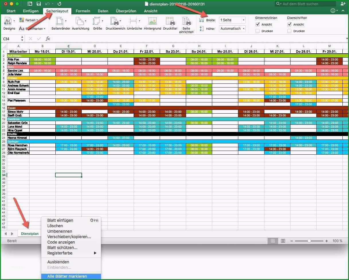 Bemerkenswert Jahres Nstplan Excel Vorlage – Gehen