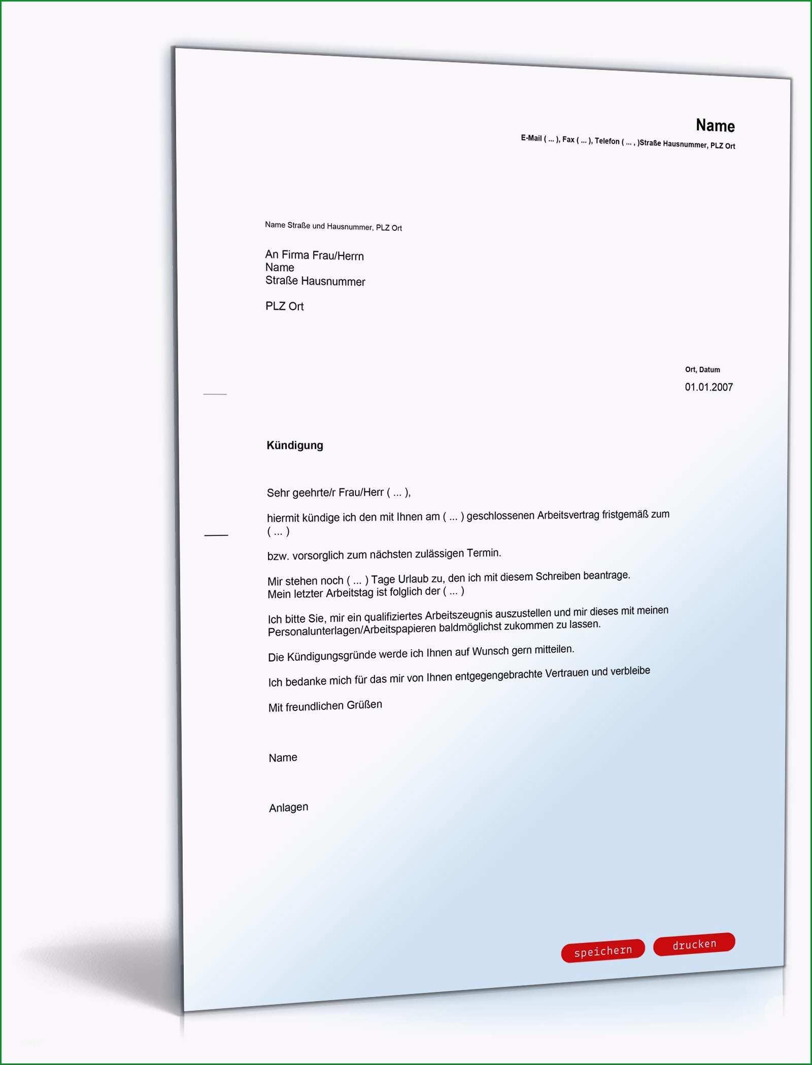 kuendigung arbeitsvertrag arbeitnehmer schweiz