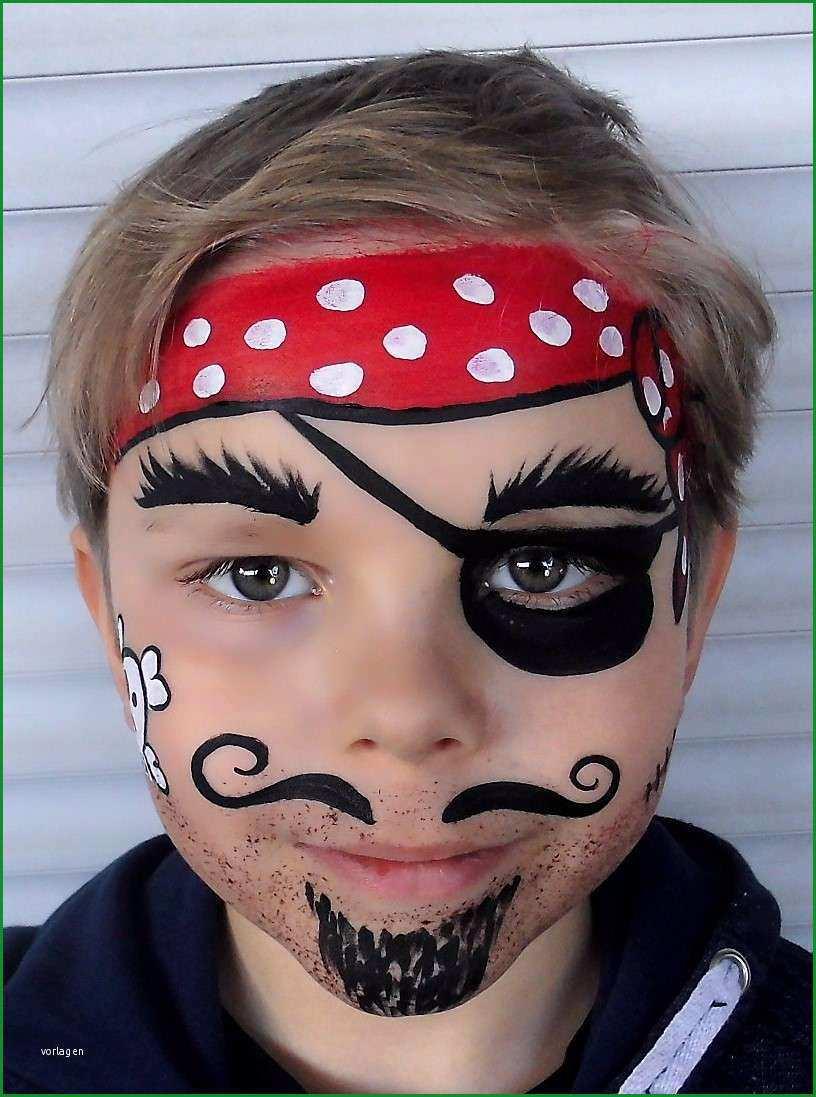 schminkvorlage pirat