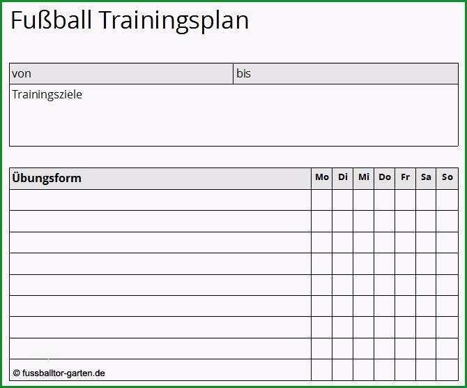 trainingsplan pferd vorlage fusball trainingsplan vorlage kostenlos als pdf zum
