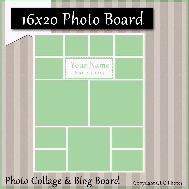 Beste 16 X 20 Text Box Foto Vorlage Collage Geschichte Blog