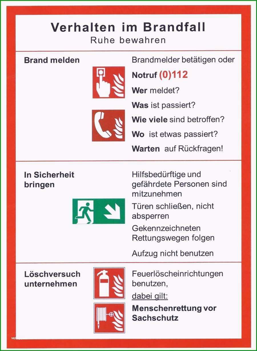 brandschutzordnung teil b vorlage word