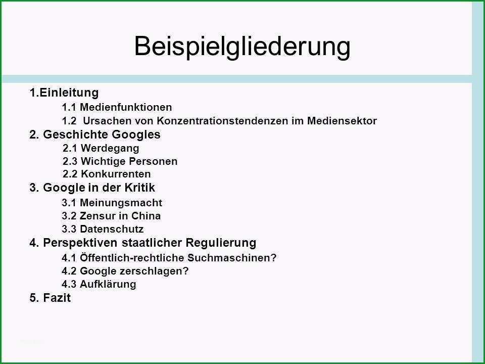 4306 deutsch facharbeit gliederung