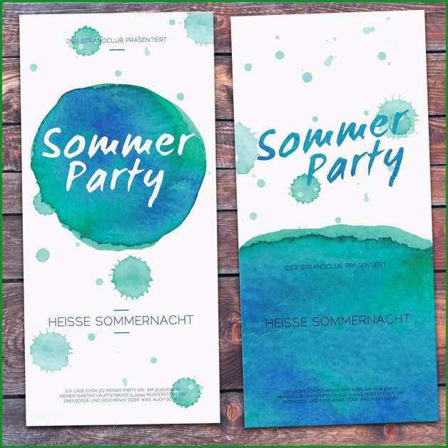 einladung geburtstag karte gartenparty sommerparty