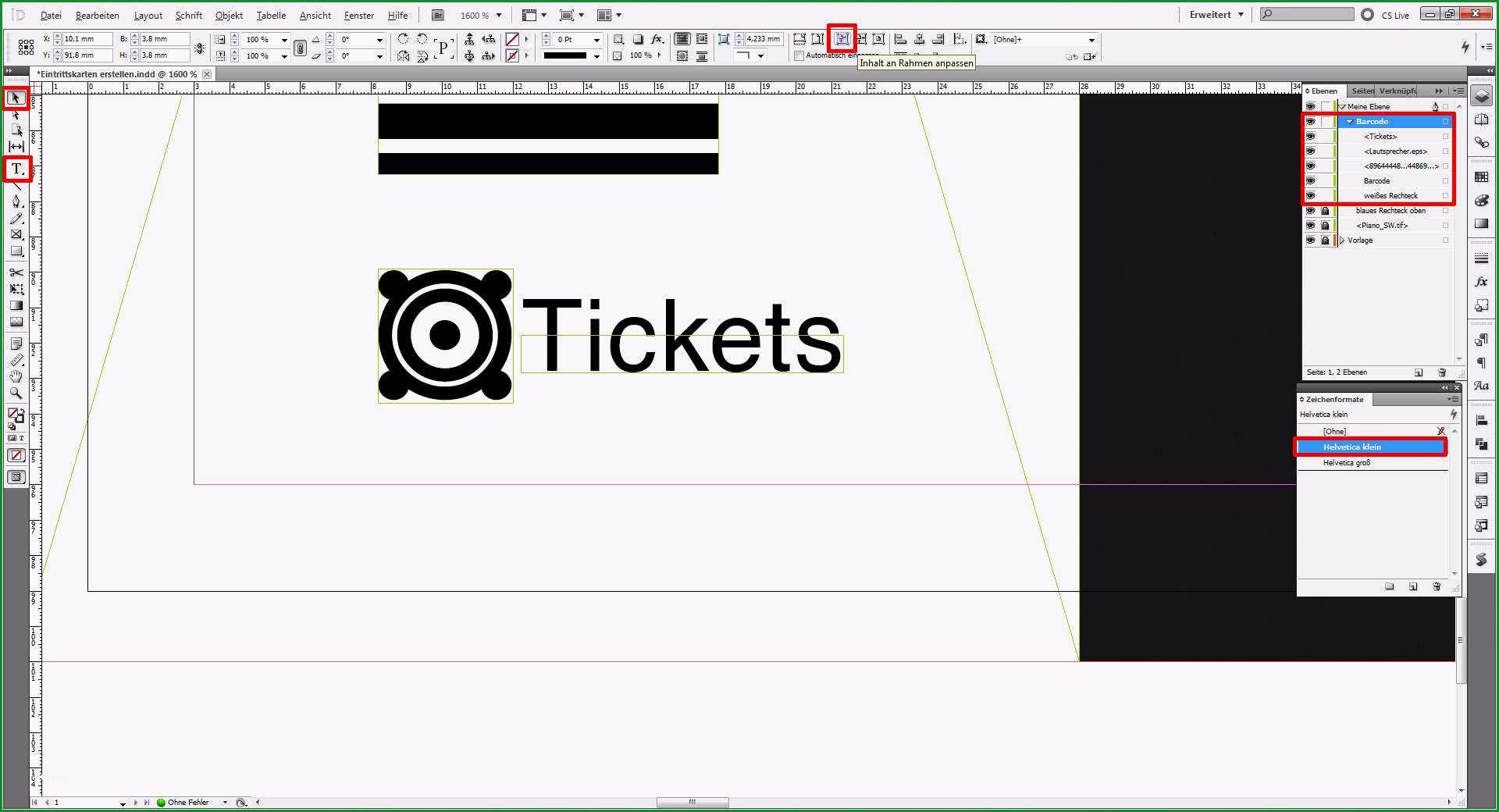 eintrittskarten selber machen vorlage echt indesigntutorial eintrittskarten erstellen saxoprint