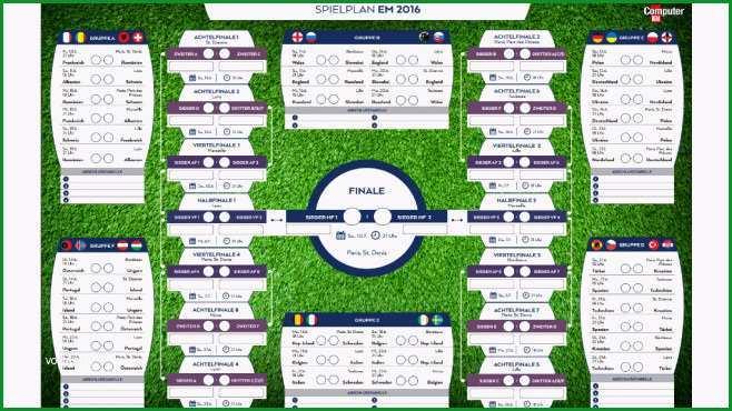 cb News Software EM 2016 Excel Tippspiel kostenlos Download