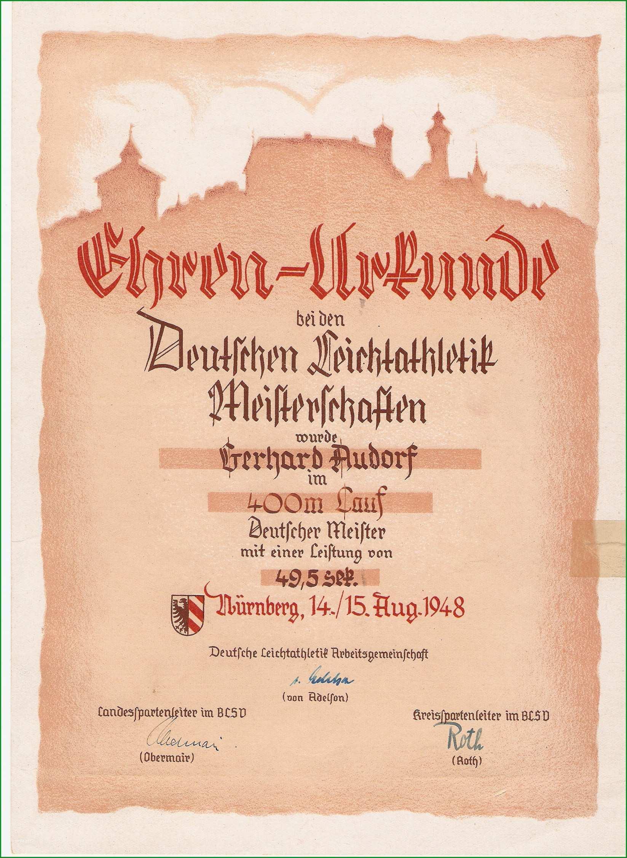 File Urkunde deutscher meister 400 meter lauf