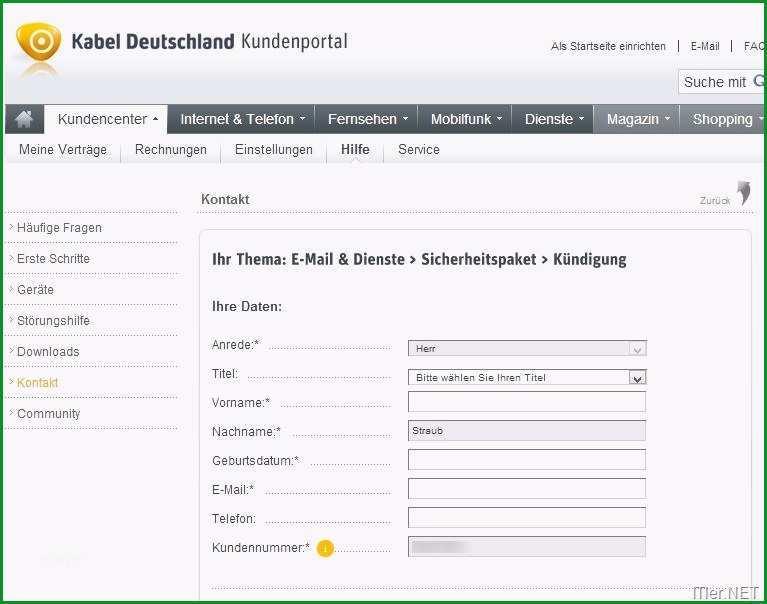kabel deutschland sicherheitspaket kuendigen so gehts