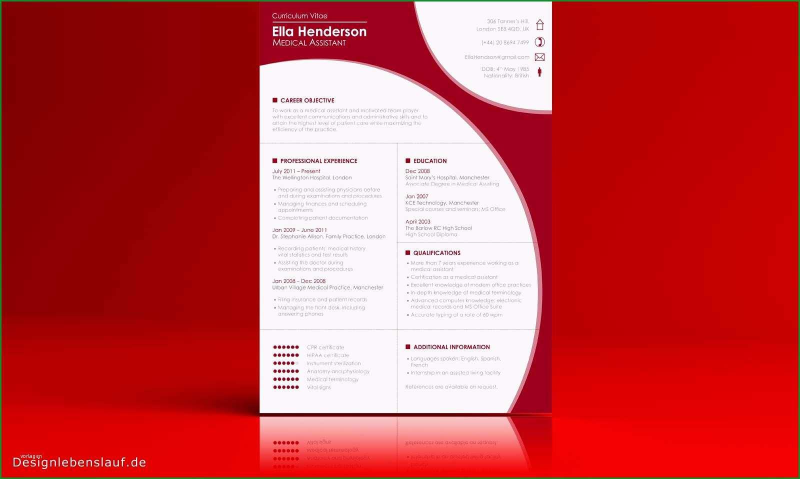 lebenslauf layout vorlage bewerbung auf englisch mit cover letter und cv zum