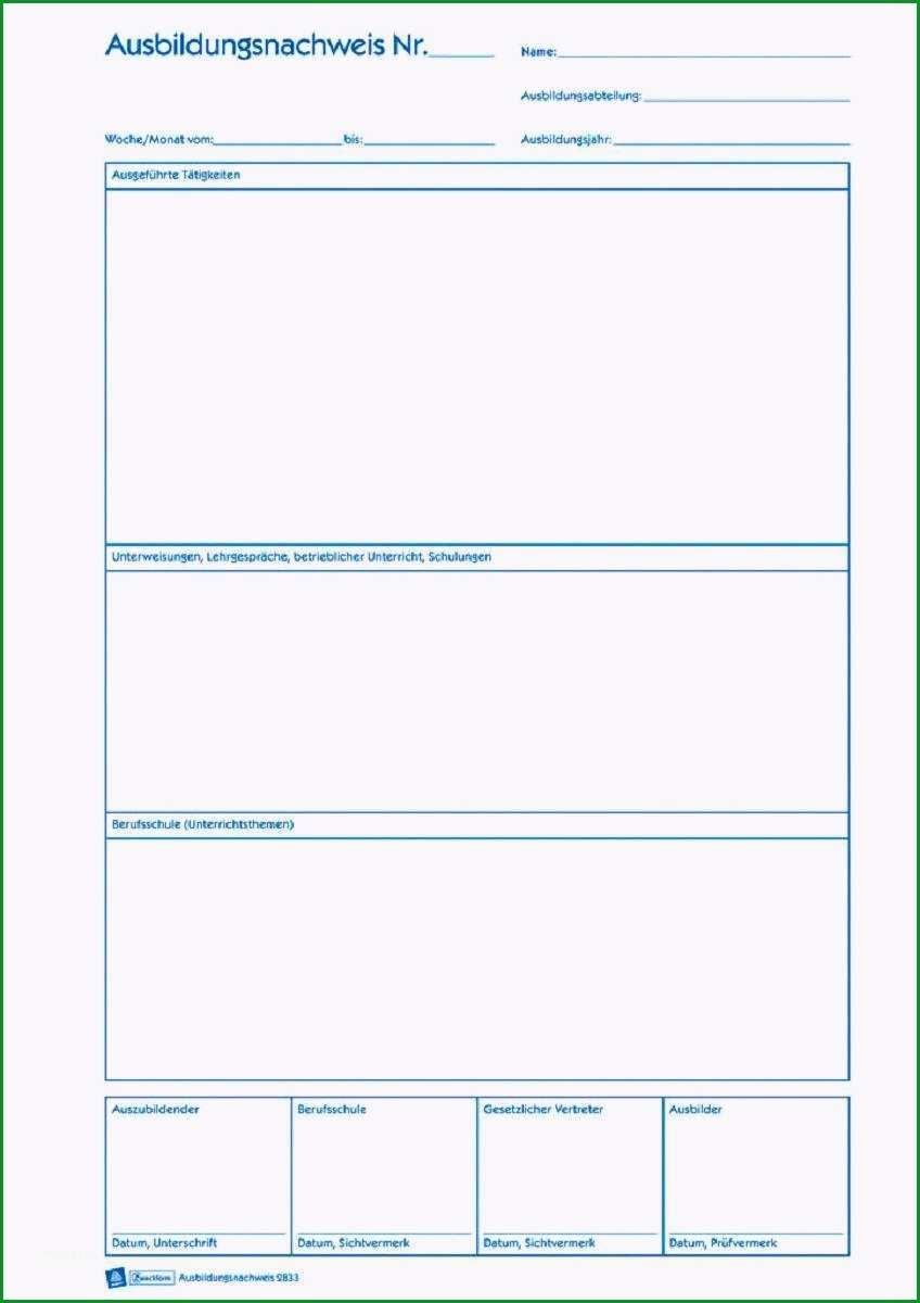 monatsbericht vorlage frisch ausbildung berichtsheft schreiben bild berichtsheft mfa muster das