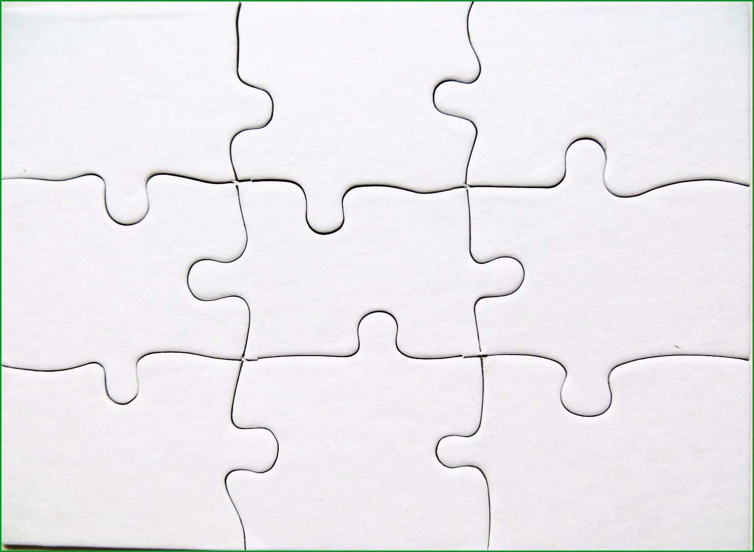 Beste Puzzle Vorlage Blanko Blanko Puzzle Din A4 3er Pack Puzzle